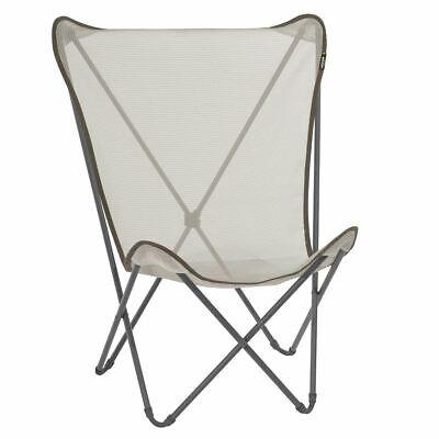 Lafuma Maxi Pop Up Chair Seigle Grey LFM1837 Genuine Lafuma