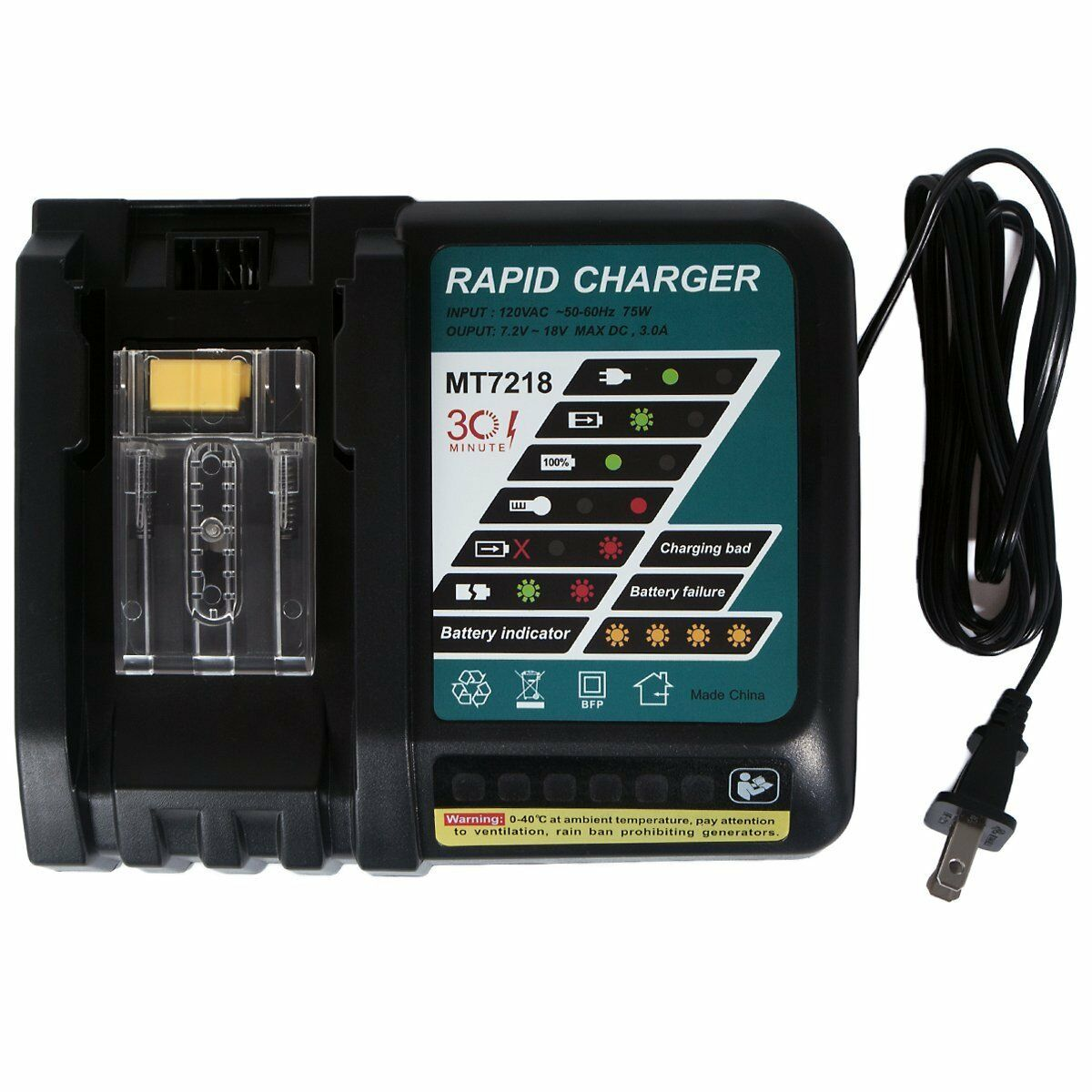 New Lithium Ion Battery Charger For Makita 18v Lithium Ion