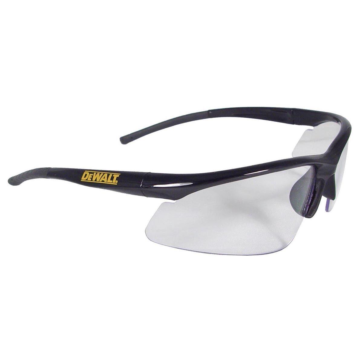 b86845f5af Details about DeWALT Radius Safety Glasses with Clear Lens