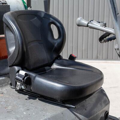 Molded Toyota Forklift Seat With Seatbelt Switch Premium Quality Belt Black