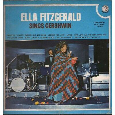 Ella Fitzgerald  LP Vinilo Canta Gershwin / Variety Nuevo