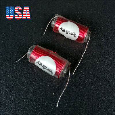 2x 0.6mm 0.27mh Iron Core Inductance Coil For Speaker Audio Frequency Divider