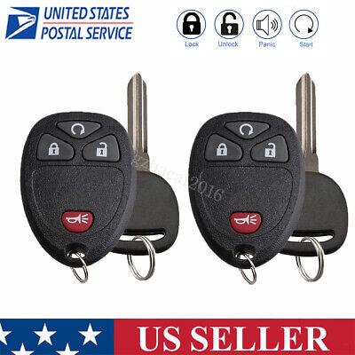 For 2006-2011 Chevrolet HHR Uplander Keyless Entry Remote Key Fob + Ignition key Chevrolet Hhr 2006