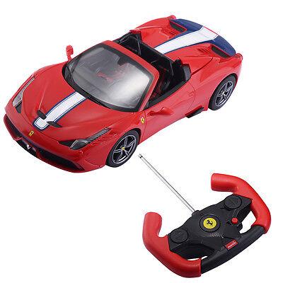 1:14 Ferrari 458 Speciale A Licensed Radio Remote Control RC Car Christmas Gift