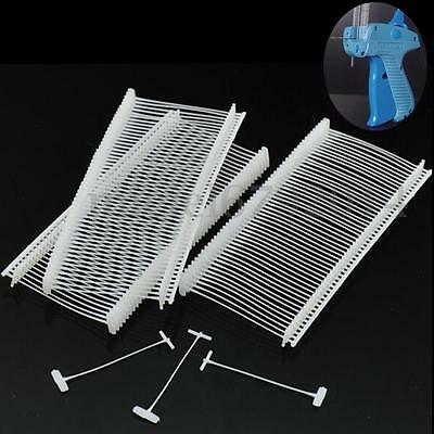 5000pcs Clear 2 Clothing Garment Price Label Tagging Tagger Gun Barbs Standard