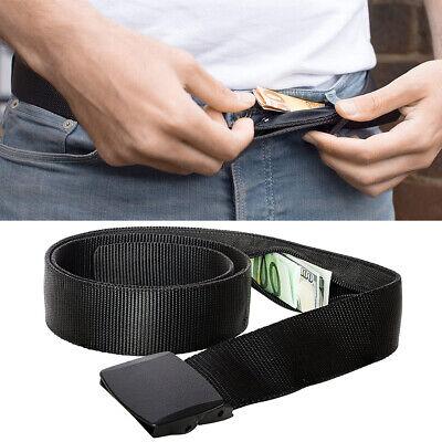 Secret Hidden Security Waist Money Belt Wallet Protect Zip Pocket Travel Pouch Hidden Zip Pocket