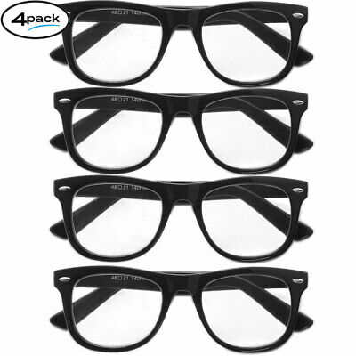 Reading Glasses Men Women Glasses Readers Classic Style ALL POWERS 4 or 8 Pack -