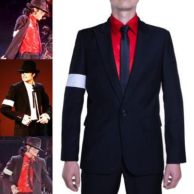 MJ Dangerous Michael Jackson  Cosplay Performance uniforms Suit coat costume - Mj Costume