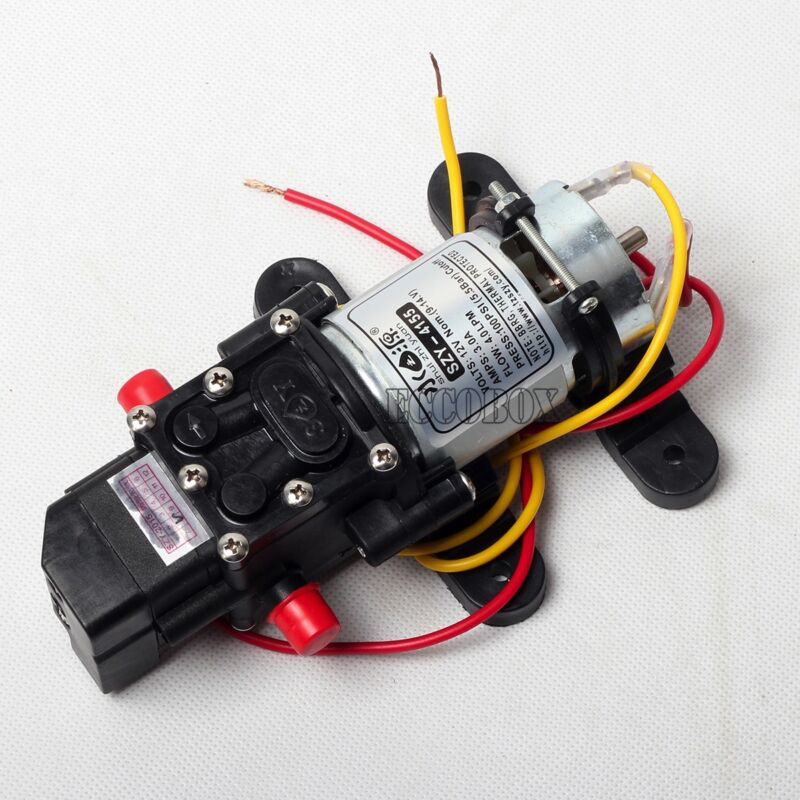 New Solid 80PSI DC 12V 1GAL/Min Diaphragm Water Self Priming Pump High Pressure