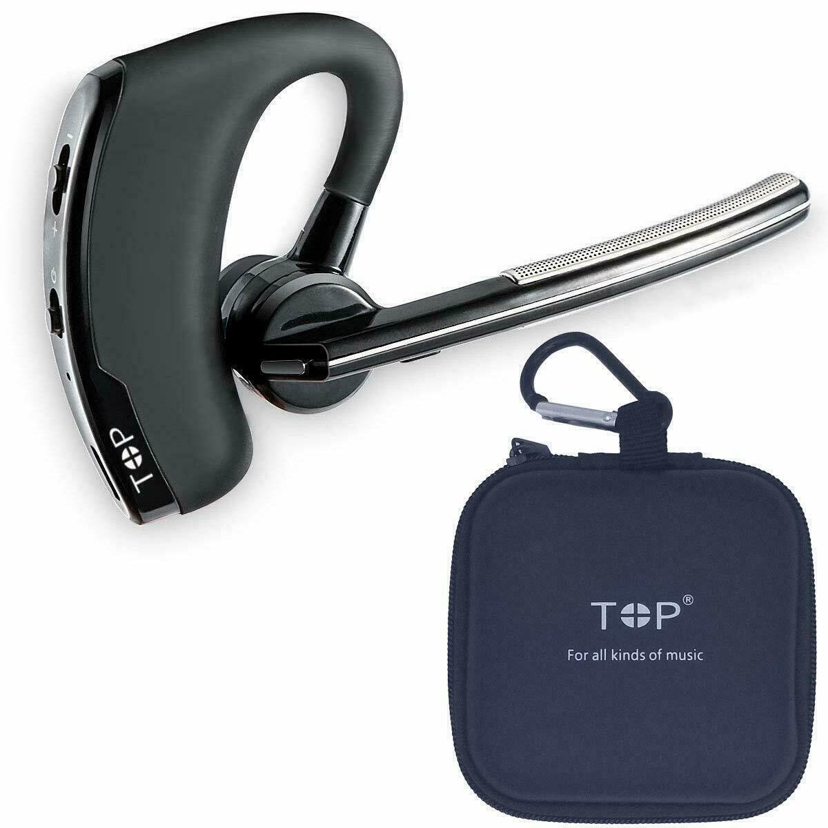 Wireless Earpiece Bluetooth Handsfree Noise Cancelling Stere