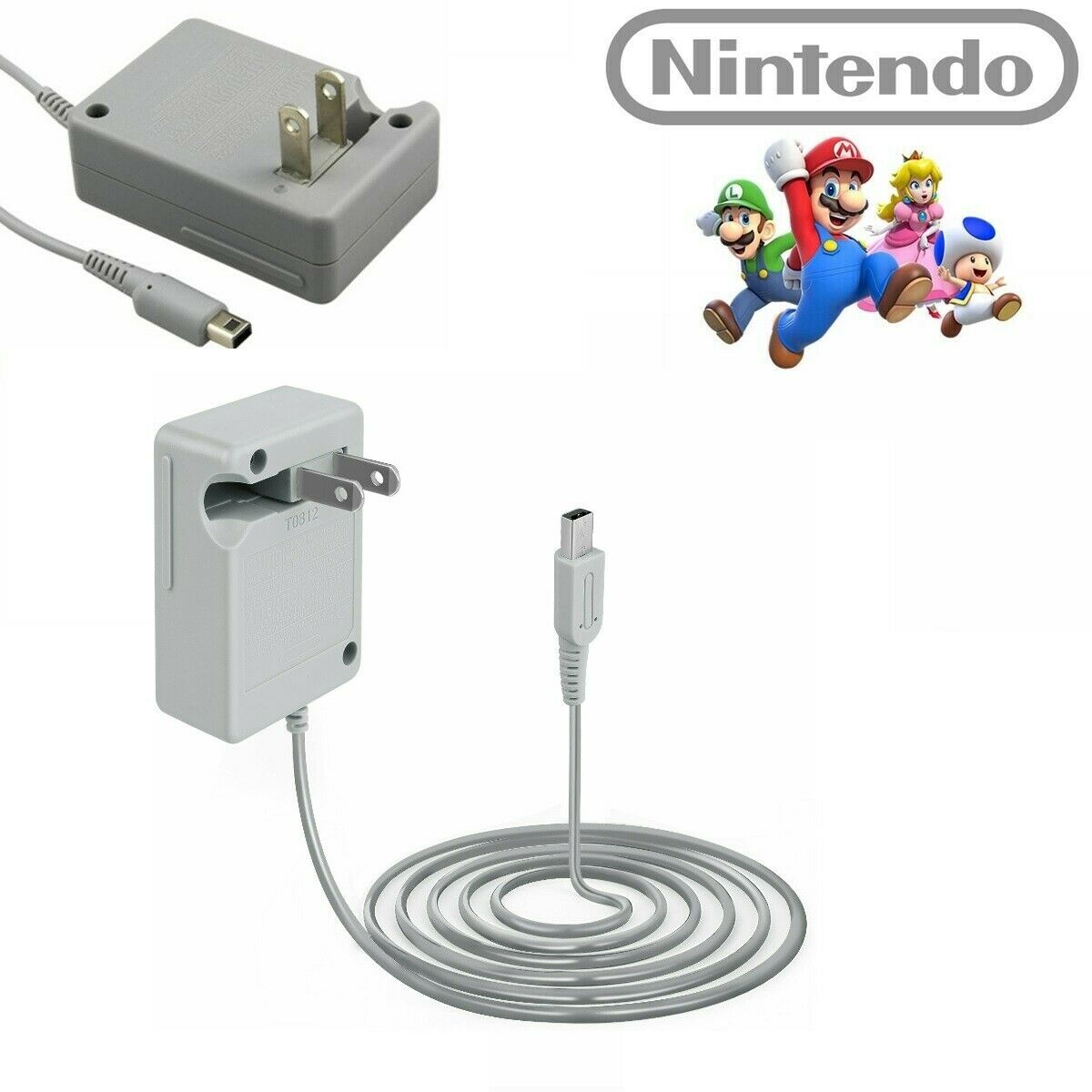 AC Adapter Home Wall Charger Power Adapter Cord For Nintendo DSi 2DS 3DS, 3DS XL Chargers & Charging Docks