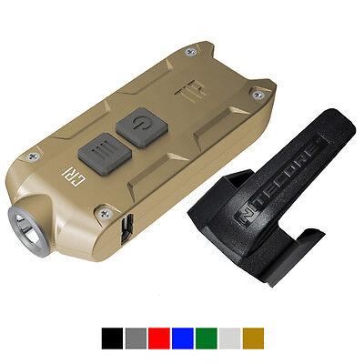 Nitecore TIP 2017 CRI Upgrade 240 Lumen Rechargeable Keychain Flashlight (Gold)
