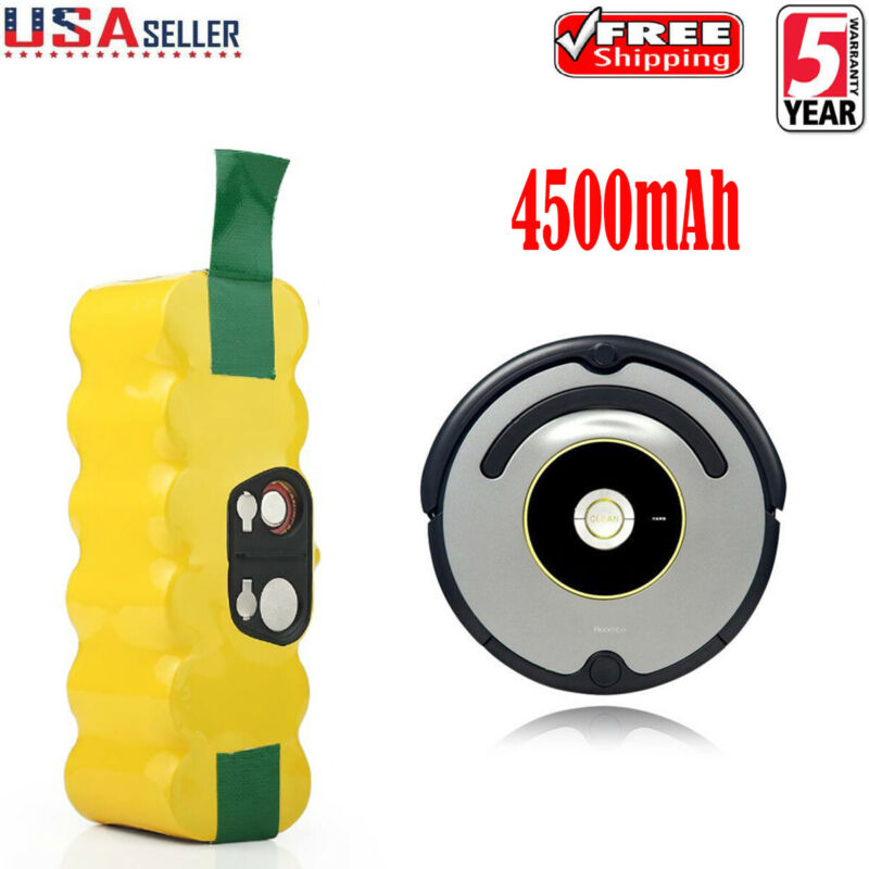 Battery For iRobot Roomba 500 600 700 800 595 620 630 650 660 790 780 880 4.5Ah