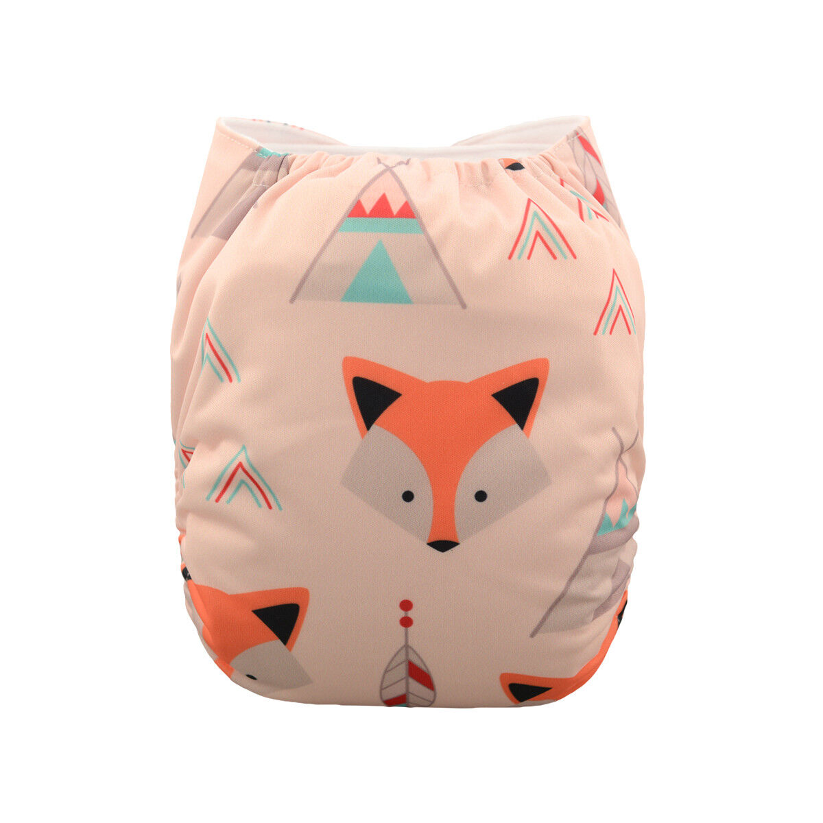 ALVABABY Reusable Baby Cloth Diapers OneSize Washable Pocket Nappies With Insert YD45