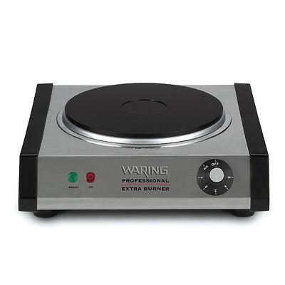 Waring WEB300 Commercial Single Burner Hot Plate Cast Iron 120v