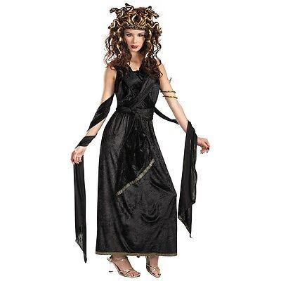 Medusa Costume Adult Greek Goddess Halloween Fancy Dress