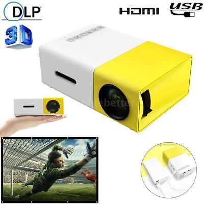 YG300 Mini Portable Multimedia LED LCD Projector Full HD 108