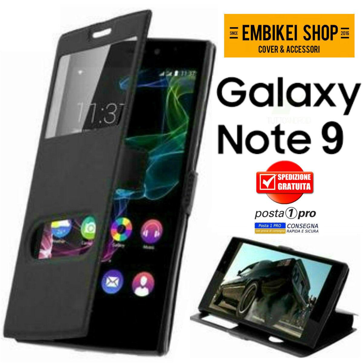 Custodia per Samsung Galaxy NOTE 9 Cover a Libro Portafoglio Finestra