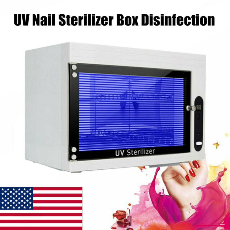 UV Sterilizer Disinfection Box Nail Tools Sterilizer Cabinet Clean Disinfector