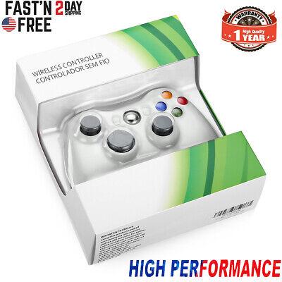 Wireless Game Controller Gamepad Joystick for Microsoft XBOX 360 & PC WIN 7 8 10