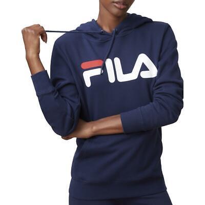 Fila Womens Lucy  Navy Fitness Training Lifestyle Hoodie M BHFO 3909