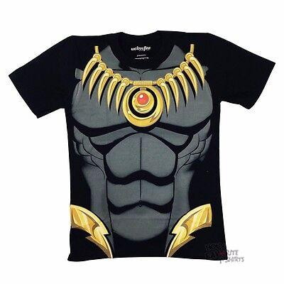 Costume Black Adult T-shirt - Black Panther I Am Costume Avengers Marvel Comics Licensed Adult T Shirt