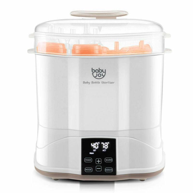Baby Bottle Electric Steam Sterilizer Dryer Machine Warmer Milk With LED Monitor