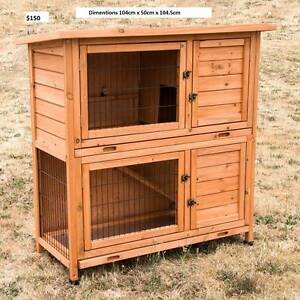♥♥♥♥ DOUBLE STOREY HUTCH / CAGE 2 TRAYS ♥♥♥♥ Londonderry Penrith Area Preview