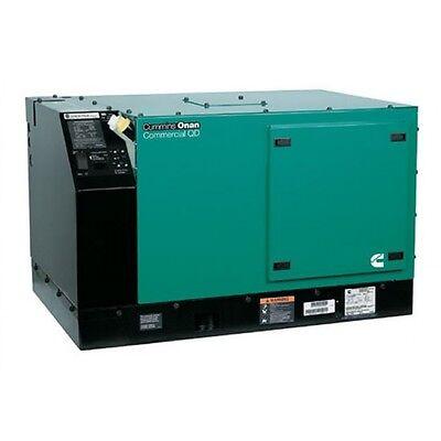 Brand New Cummins Onan 8000 Watt Commercial QD Diesel Generator 8.0HDKAU-41934