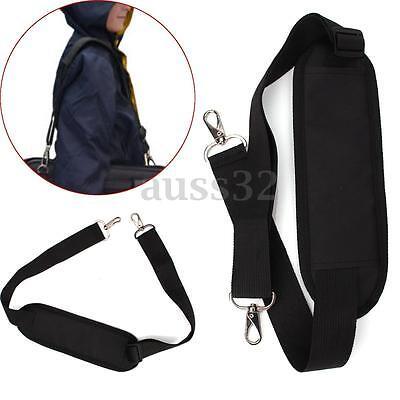 Adjustable Black Shoulder Strap Replacement for Laptop Computer Camera Bag Case