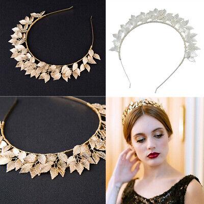 Leaf Leaves Laurel Greek Roman Wedding Bride Crown Hair Headband 2 Colours](Roman Headband)