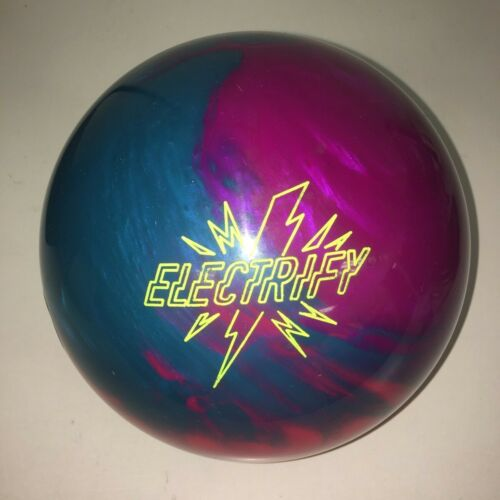 "USED 15# Storm Electrify Reactive Resin Bowling Ball - 5"" Span"