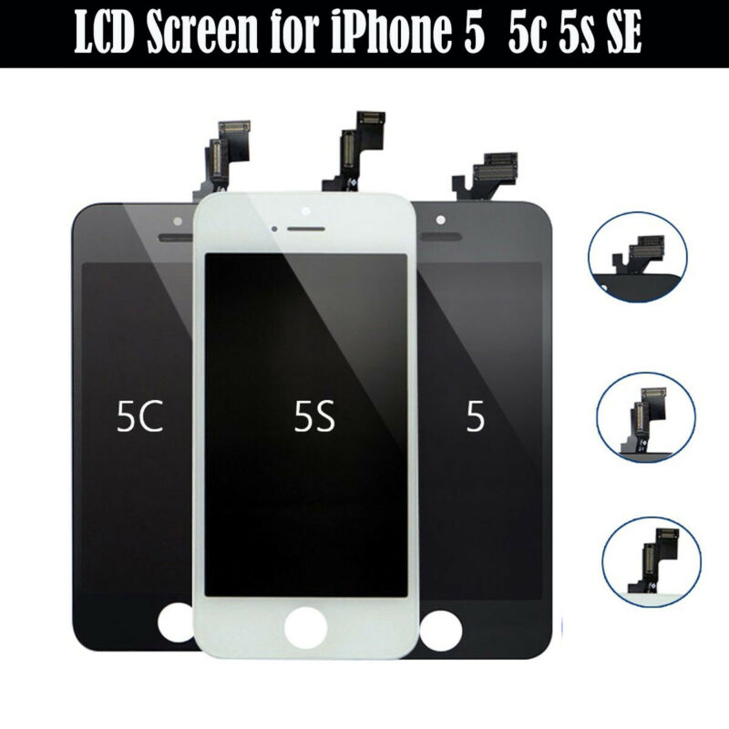 For iPhone 5 5S 5C SE LCD Display Digitizer Touch Screen Replacement Assembly