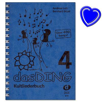 Das Ding 4 Kultliederbuch - Songbook für Gesang, Gitarre - D99 - 9783868492460