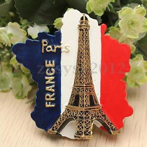UK Resin 3D Fridge Magnet Tourist Souvenir Favorite Travel - Eiffel Tower, Paris