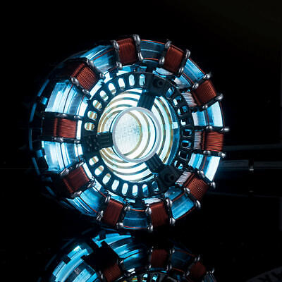 US Stock DIY Master Grade Iron Man MK1 ARC Reactor USB Powered Cosplay Model KIT