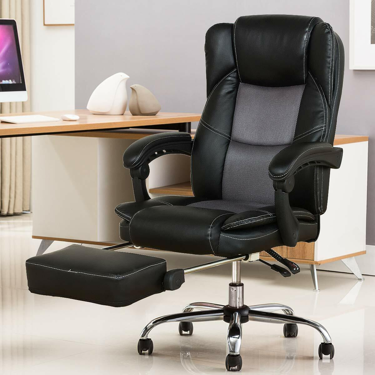 YAMASORO Recliner Office Chair High Back Executive Ergonomic