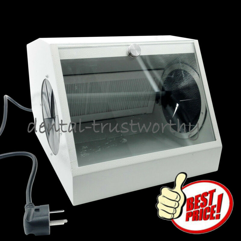 NEW Etcher Catcher Dust Collector Extractor for Dental Etching /Sandblasting
