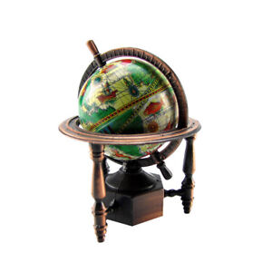 1:12 Miniature World Globe Dollhouse/Diorama Accessory Die Cast Pencil Sharpener