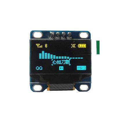 0.96 I2c Iic 128x64 Led Oled Lcd Display Module Arduino Yellow - Blue Ssd1306