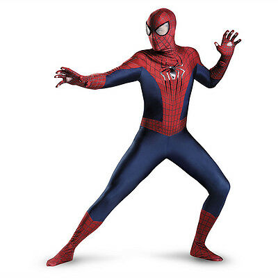 The Amazing Spider-Man 2 Theatrical  Adult / Teen Costume Disguise 73061 - Amazing Adult Costumes