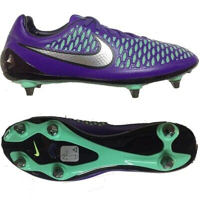0772e9bf1 Nike Magista Opus SG Soccer Football Cleats Boots 12.5 Purple Teal Green  Silver
