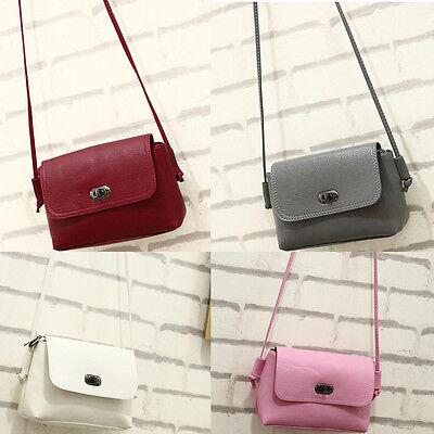 Fashion Women Bag Leather Handbag Messenger Student Tote Shoulder Bag Satchel