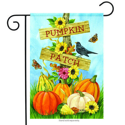 Pumpkin Patch Fall Garden Flag