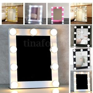 vanity lighted hollywood makeup mirror with lights dimmer stage beauty touch. Black Bedroom Furniture Sets. Home Design Ideas