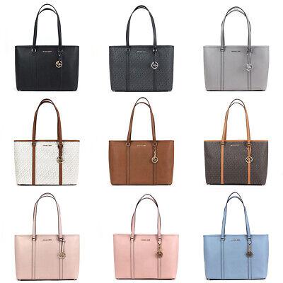 Michael Kors Sady Tote Large Multi Function Top Zip Bag