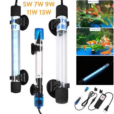 Aquarium Aquarium UV Licht Sterilisator Tauchpumpe Grüne Kill Keimtötende Lampe