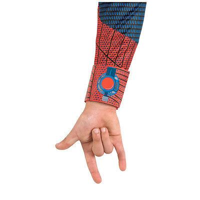 Amazing Spider Man Kids Costume (Amazing Spider-Man 2012 Child Wrist Band Costume Web Shooter Disguise)