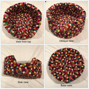 Freckle Felt Ball Pet Bed - spoil your pet with this stylish bed Parkville Melbourne City Preview