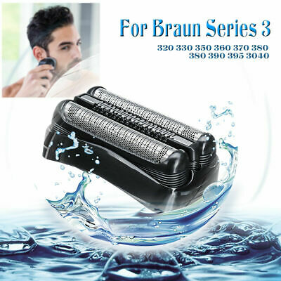 Replacement Foil Head For Braun Shaver Razor Series 3 Wet Dr